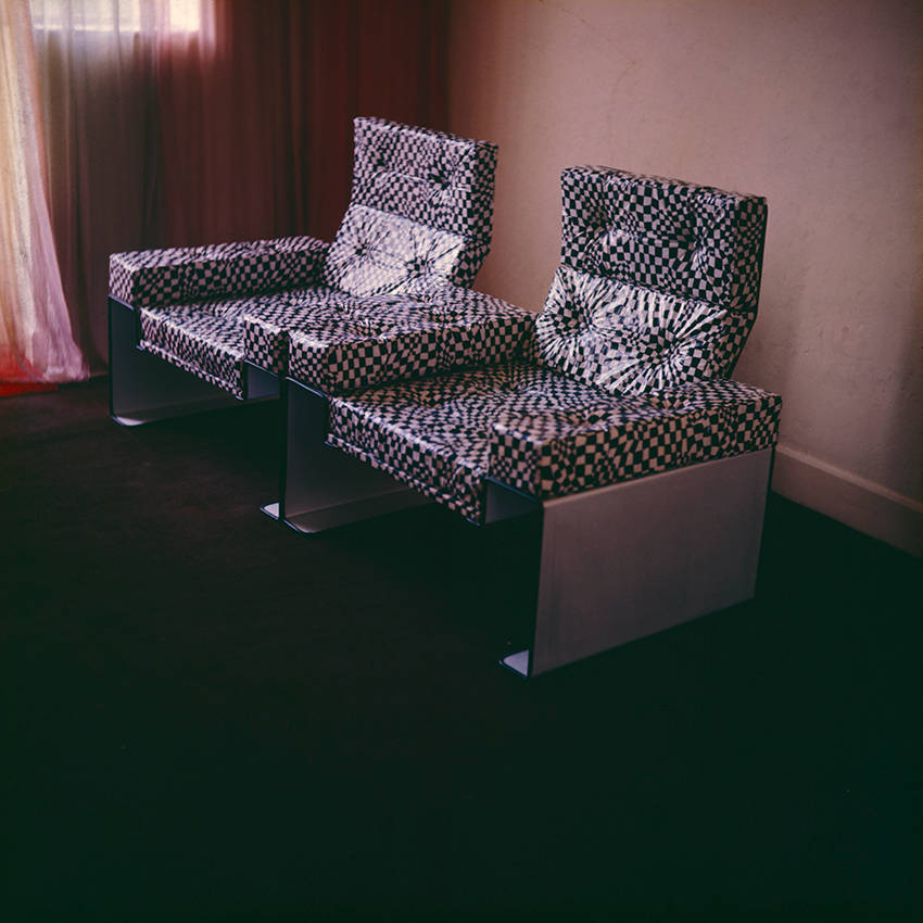 image showing The predecessor to the acrylic armchair